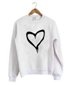 Black Heart Sweatshirt ZK01