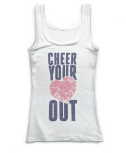 Cheer Your Heart Out Tanktop ZK01