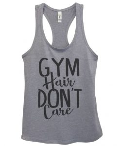 Gym Hair Don't Care Tanktop ZK01