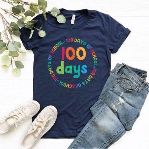 100 days School T-Shirt SR01