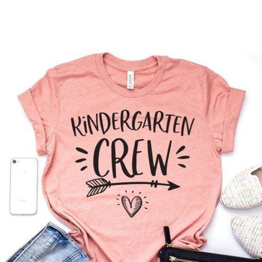 Kindergarten Crew T-shirt ZK01