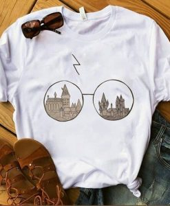 Eye Glasses Harry Potter T-shirt ZK01