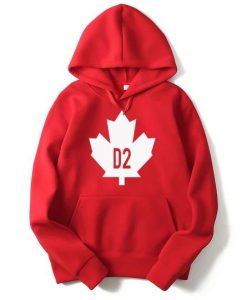 Vsenfo Canada Leaf Hoodies KH01