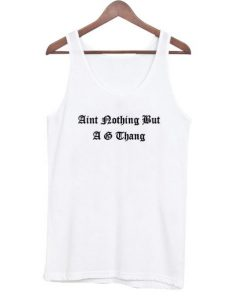 Aint nothing but Tanktop MQ20J0