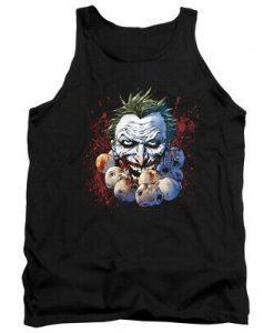 BATMAN JOKER DOLL HEADS Tank Top AZ01