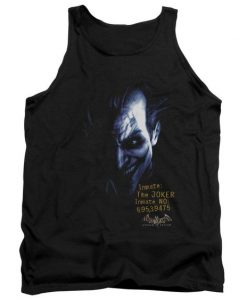 Batman Arkham Joker Adult Tank Top AZ01