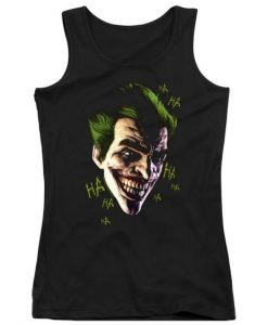 Batman Arkham Origins Juniors Joker Tank Top AZ01