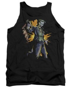 Batman Joker Bang Adult Tank Top AZ01