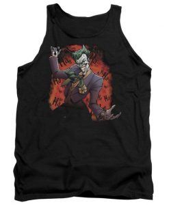 Batman Joker's Ave Adult Tank Top AZ01