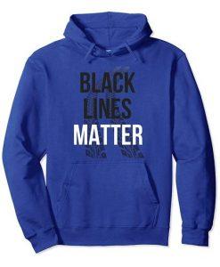 Black Lines Matter Hoodie FR01