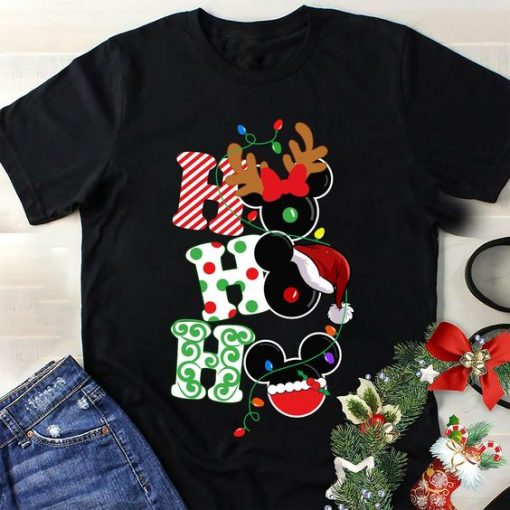 Disney Christmas HOHOHO Tshirt FD