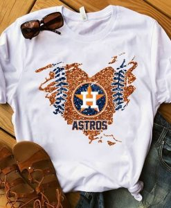 Houston Astros Baseball t Shirt SR01