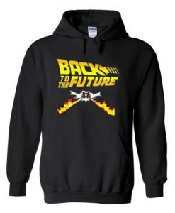 Back to the future hoodie SR29N