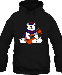Bear Playing Guitar Hoodie FD30N