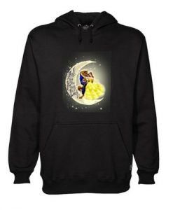 Beauty and ther beast hoodie SR29N