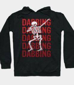 Dabbing Skeleton Hoodie SR29N