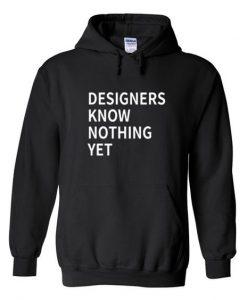 Designer Know Nothing Hoodie N22VL