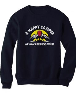 Happy Camper Sweatshirt N26SR
