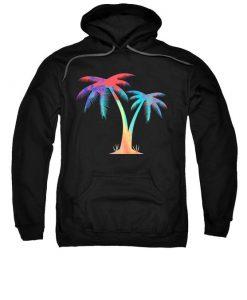 Tropical Palm Hoodie N26SR