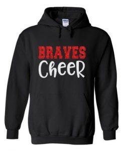 braves cheer hoodie SR29N