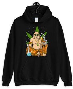 Buddha Smoking Weed Hoodie EL18D