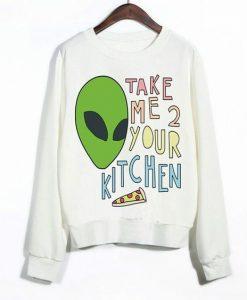 Take Me Your Kitchen Sweatshirt VL21D
