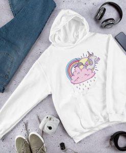 Unicorn Sun and Rainbow Hoodie FD7D