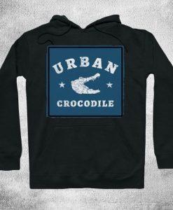 Urban crocodile vintage Hoodie SR6D