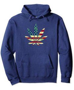 Usa Flag Hoodie EL18D