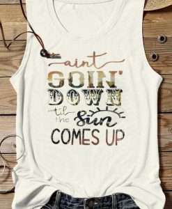 Ain't Going Down Tanktop EL13J0