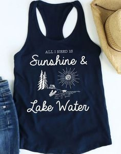 All I Need Is Sunshine Tanktop EL13J0