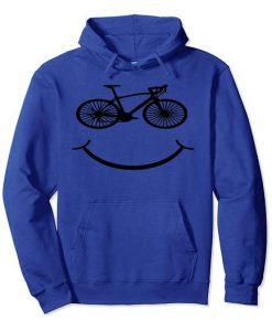 Bicycle Smiley Hoodie EL4F0