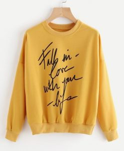 FALL IN LOVE Sweatshirt FD7F0