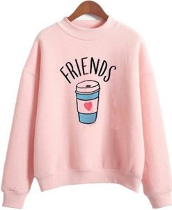 Pink Friends Sweatshirt FD7F0