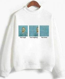 Van gogh van gone sweatshirt IS23F1
