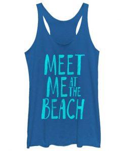 Meet Me At The Beach Tank Top EL16MA1